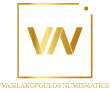 Vasilakopoulos Numismatics Logo